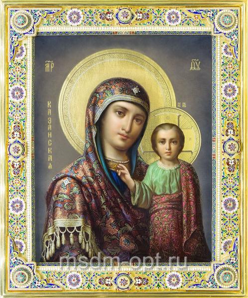 Казанская икона Божией Матери (арт.04237)