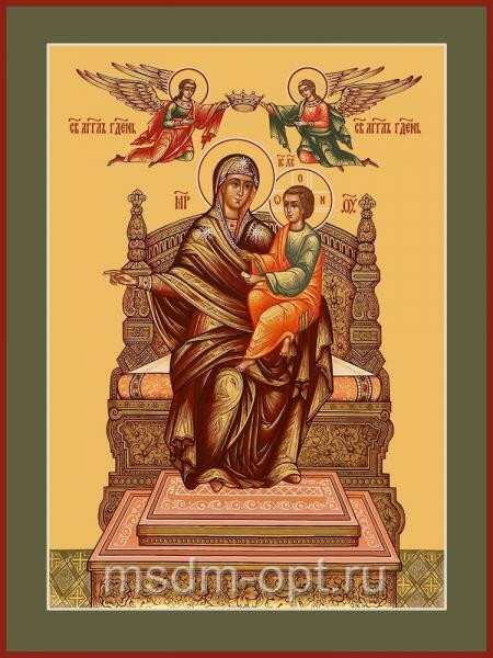 Божья матерь Домостроительница, икона (арт.04251 с-2)