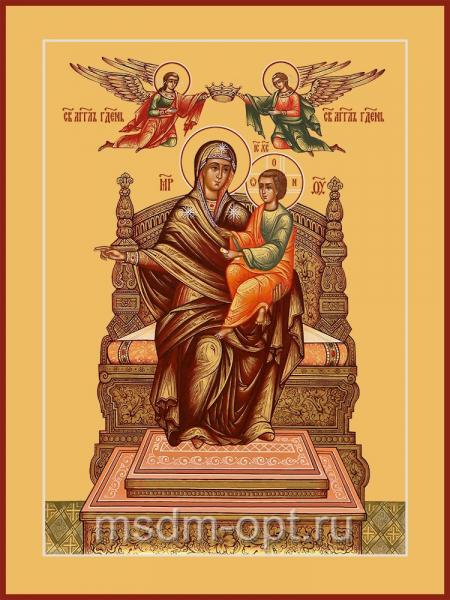 Божья матерь Домостроительница, икона (арт.04251)