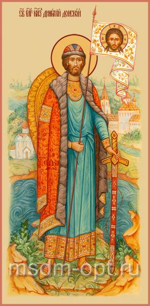 Димитрий Донской Благоверный Князь, икона (арт.04483)
