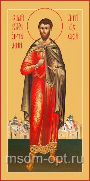 Артемий Антиохийский великомученик, икона (арт.04544)