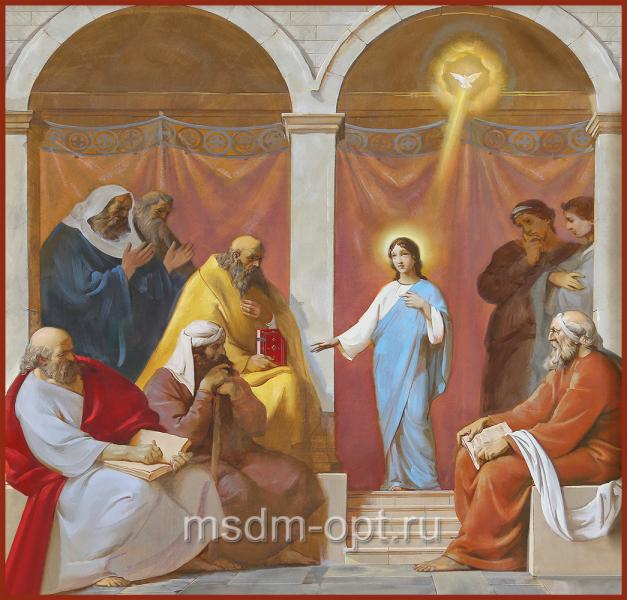 Отрок Христос во Храме, икона (арт.04694)