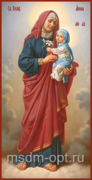 Анна, мать Пресвятой Богородицы, праведная, икона (арт.04865)