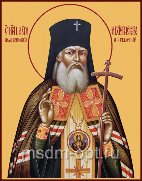 Лука святитель, исповедник, архиепископ Крымский, икона (арт.507)