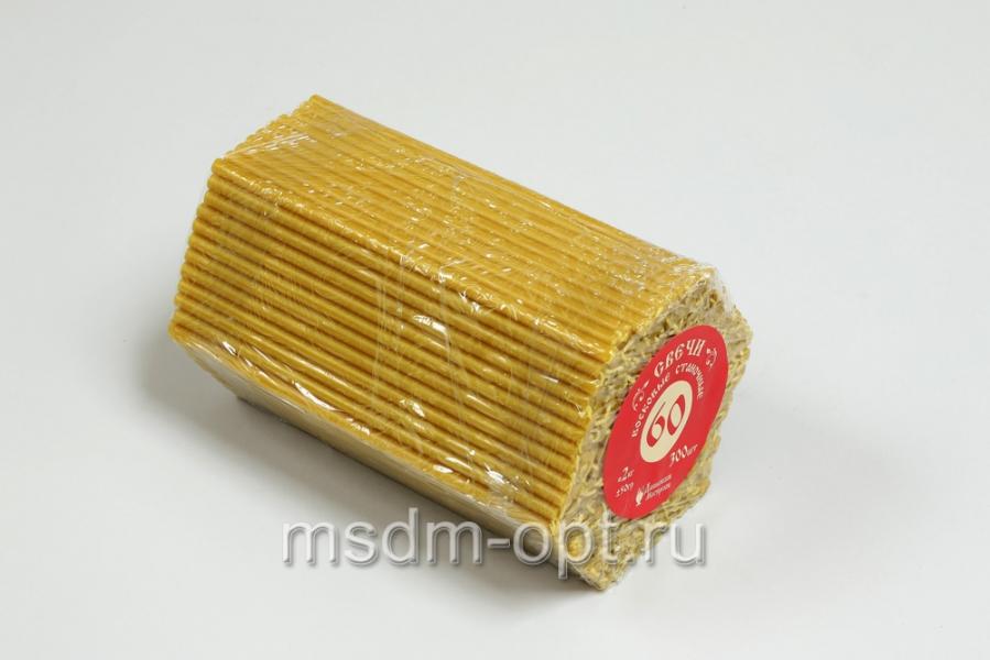 60 № ДМ Свечи станочные восковые