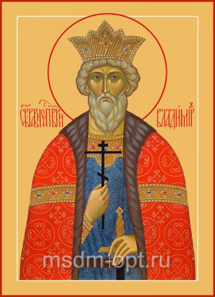 Владимир равноапостольный великий князь, икона (арт.06015)