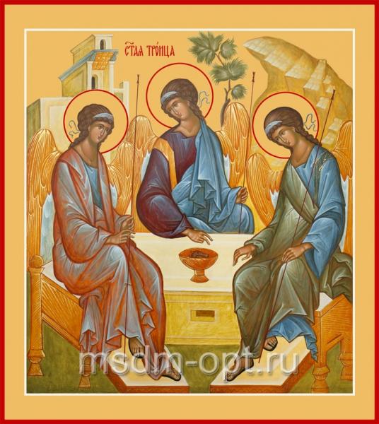 Святая Троица икона (арт.06130)