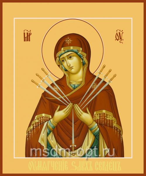 Умягчение злых сердец икона Божией Матери (арт.06226)