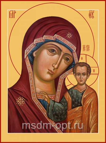 Казанская икона Божией Матери (арт.06347)