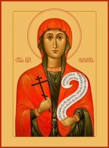 Параскева Пятница мученица, икона (арт.6542)