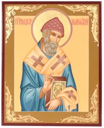 Спиридон Тримифунтский святитель, икона (арт.37791)