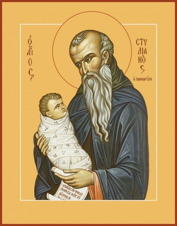 Стилиан преподобный, икона (арт.856)