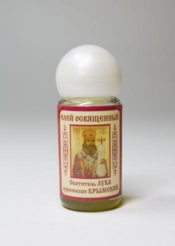 Лука святитель, архиепископ Крымский. Елей освященный (арт.37)
