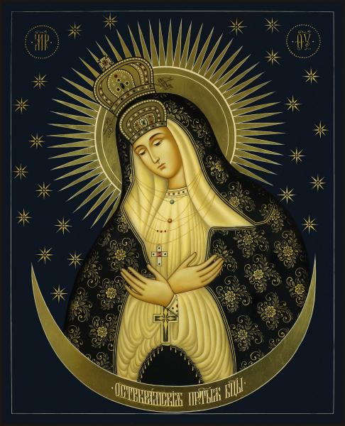 Остробрамская икона Божией Матери (арт.04302)