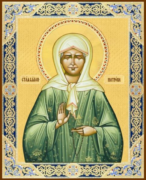 Матрона Московская Блаженная, икона (арт.06493)