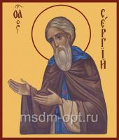 Сергий Радонежский преподобный, икона (арт.00019)