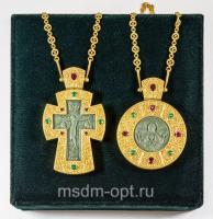 Крест и панагия. Двойник (арт.26116)