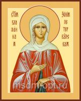 Ксения Петербургская блаженная, икона (арт.00075)