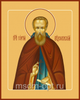 Сергий Радонежский преподобный, икона (арт.00082)