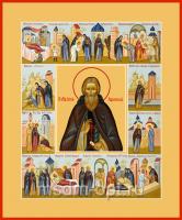 Сергий Радонежский преподобный, икона (арт.00087)