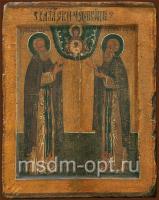 Сергий и Герман Валаамские преподобные, икона (арт.00088)