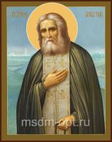 Серафим Саровский преподобный чудотворец, икона (арт.00092)