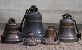 Малый набор из 5 колоколов (арт. k-00119)