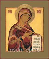 Деисусная икона Божией Матери (арт.02007)