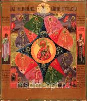 Неопалимая Купина икона Божией Матери (арт.02023)