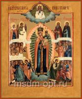 Всех скорбящих Радость икона Божией Матери (арт.02025)