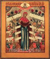 Всех скорбящих Радость икона Божией Матери (арт.02033)
