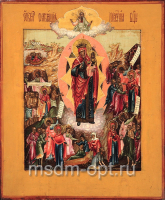 Всех скорбящих Радость икона Божией Матери (арт.02034)
