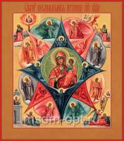 Неопалимая Купина икона Божией Матери (арт.02035)