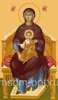 Божия Матерь на Престоле, икона (арт.00207)