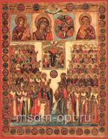 Собор Пресвятой Богородицы, икона (арт.02075)