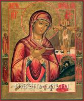 Плач Пресвятой Богородицы икона Божией Матери (арт.02077)