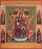 Неувядаемый Цвет икона Божией Матери (арт.02079)