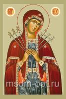 Умягчение злых сердец икона Божией Матери (арт.00256)