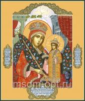 Неувядаемый Цвет икона Божией Матери (арт.00263)