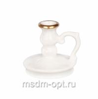 Подсвечник малый, керамика (арт.21073-6)