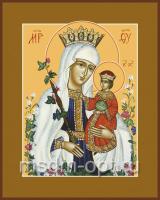 Неувядаемый Цвет икона Божией Матери (арт.00284 с-2)