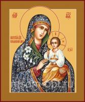 Неувядаемый Цвет икона Божией Матери (арт.00285 с-2)