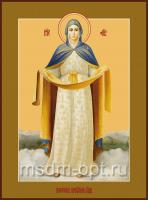 Покров Пресвятой Богородицы, икона (арт.00305)