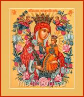 Неувядаемый Цвет икона Божией Матери (арт.00313)