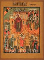 Покров Пресвятой Богородицы, икона (арт.03201)