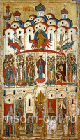 Покров Пресвятой Богородицы, икона (арт.03202)