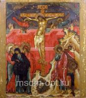 Распятие Господа нашего Иисуса Христа, икона (арт.03301)