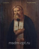 Серафим Саровский преподобный чудотворец, икона (арт.03543)