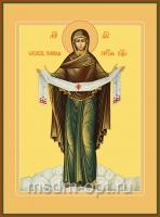 Покров Пресвятой Богородицы, икона (арт.00375)