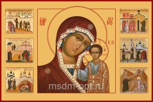 Казанская икона Божией Матери (арт.00377)